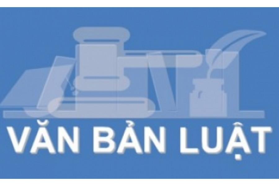 Website các văn bản pháp luật liên quan